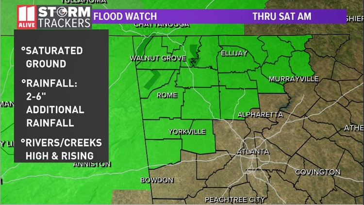 Flood watch expanded