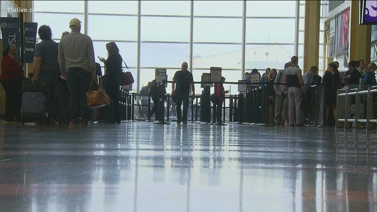 Business changes location of COVID testing site at Hartsfield-Jackson Airport