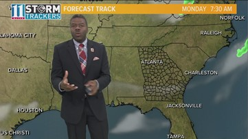 Halloween Forecast for metro Atlanta