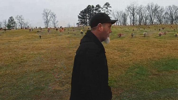 Toppled headstones, sunken graves, exposed caskets: Families demand accountability from Ga. cemetery owners