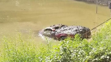 Now-classic car found submerged in Cobb lake was stolen 30 years ago