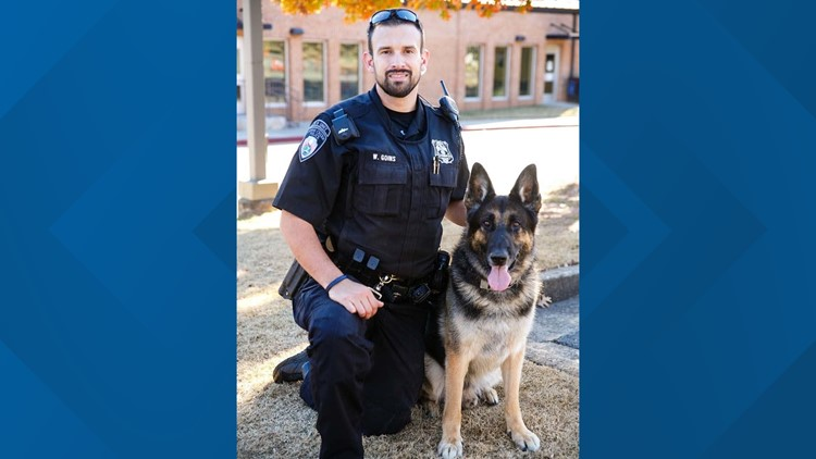 Johns Creek sergeant remembers K-9 officer Leo: 'See you on the other side, buddy'
