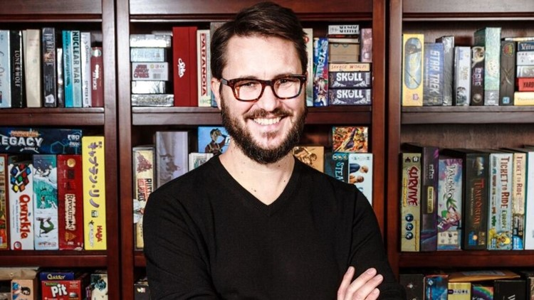 Will Wheaton is the host of Gamemaster