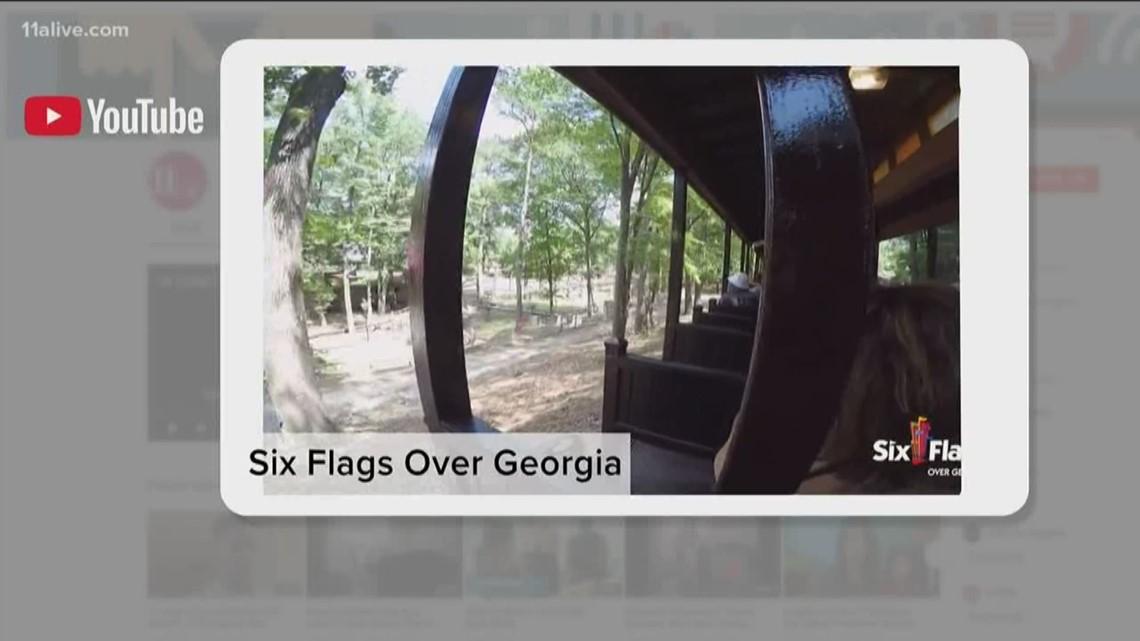 Train derailment surprises passengers at Six Flags over Georgia