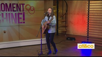 Marielle Kraft performs on A&C