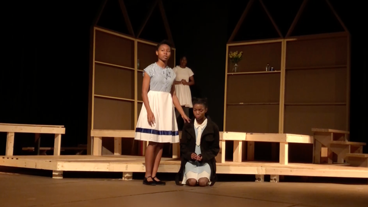 Local high-school theatre program begins the year with award-winning play