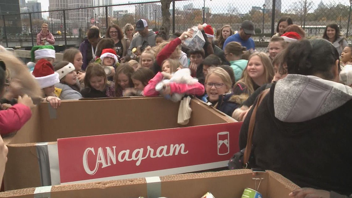 11Alive Holiday Can-A-Thon brings in thousands of donations for the Salvation Army, hungry families