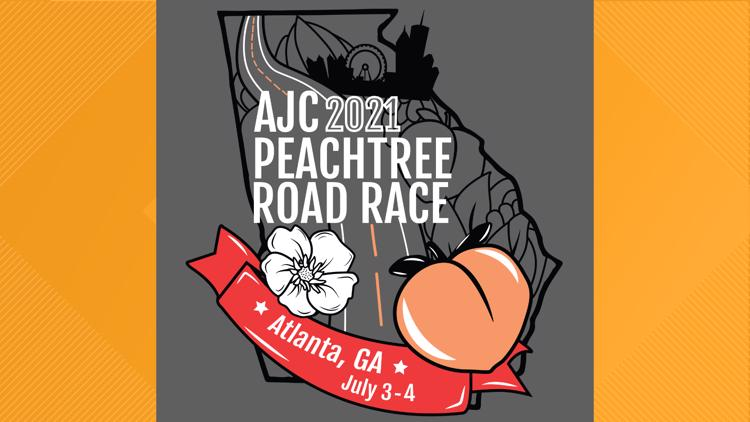 2021 AJC Peachtree Road Race T-Shirt Contest finalists