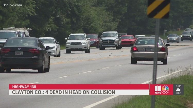 Man found 'slumped over' speeds off, crashes on Highway 138 leaving 4 dead