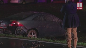 Car plows into Clayton County house