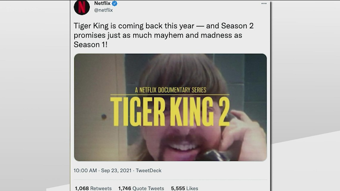 Tiger King returning to Netflix