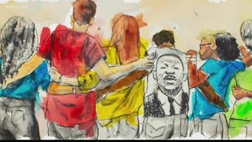 Atlanta artist creates Google Doodle on MLK Day