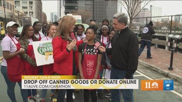 Softer Touch from Georgia State volunteers with Salvation Army