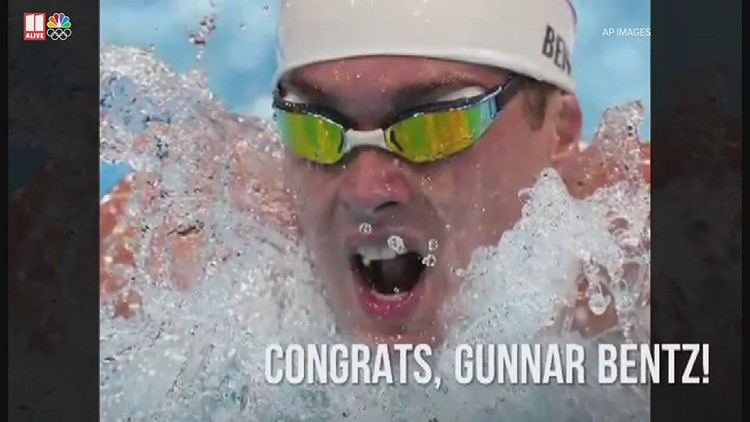 Tokyo Olympics swimming   Team USA's Gunnar Bentz qualifies