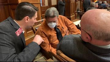 Legislators spend uncomfortable day trying to agree on Kemp's emergency declaration for coronavirus