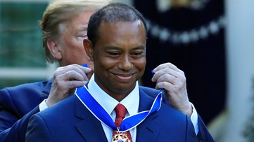 Does Tiger Woods deserve the Presidential Medal of Freedom?