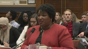Stacey Abrams testifies that Georgia has unfair voting practices