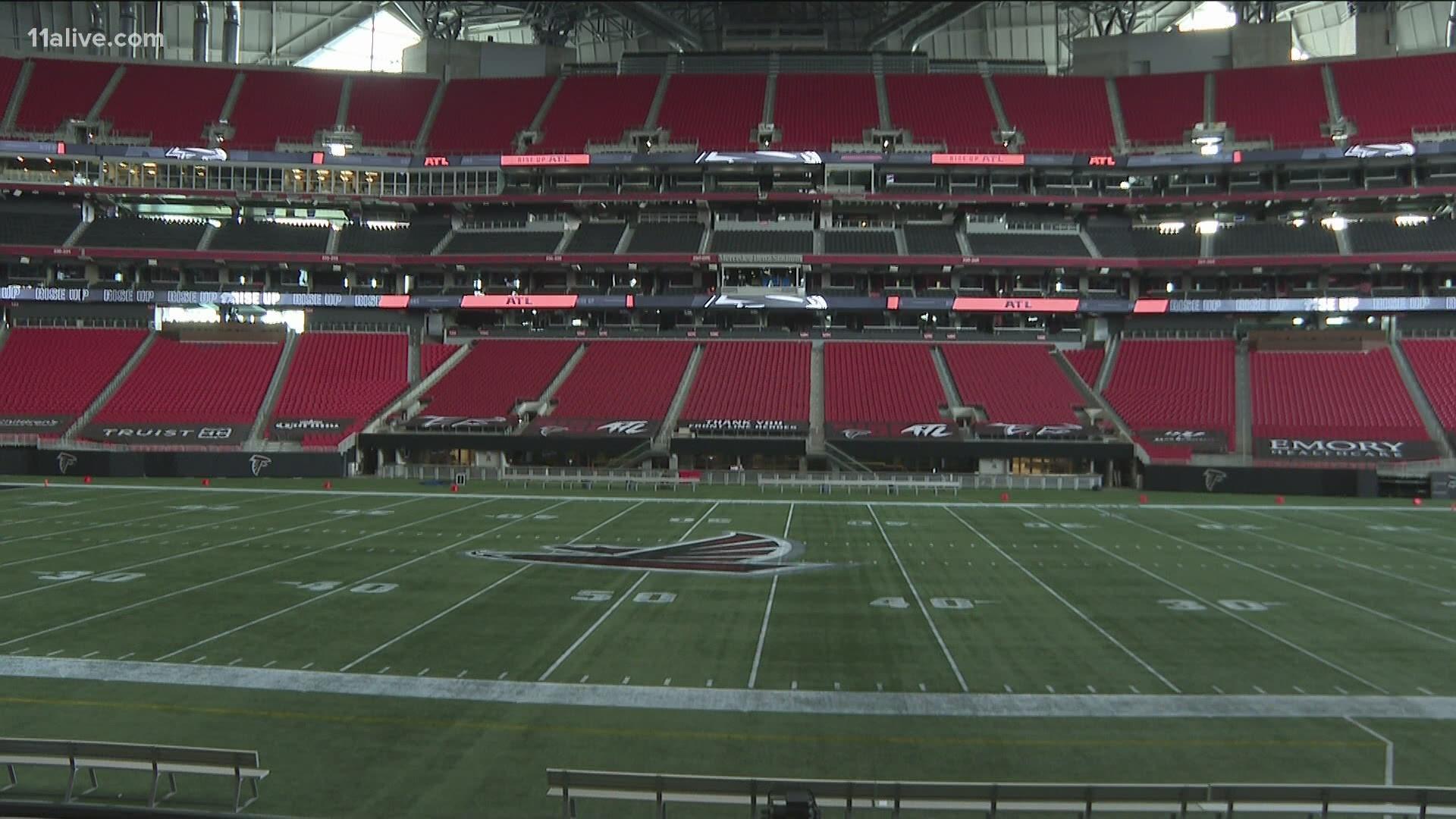 Empty Seats To Greet Atlanta Falcons At First Games 11alive Com