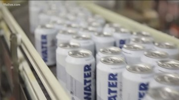 Anheuser-Busch switching gears in Cartersville to can water