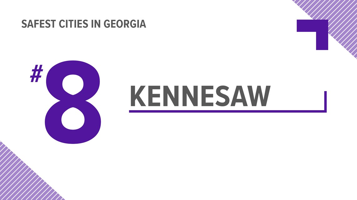 2018 LIST   These are the safest places to live in Georgia   11alive com