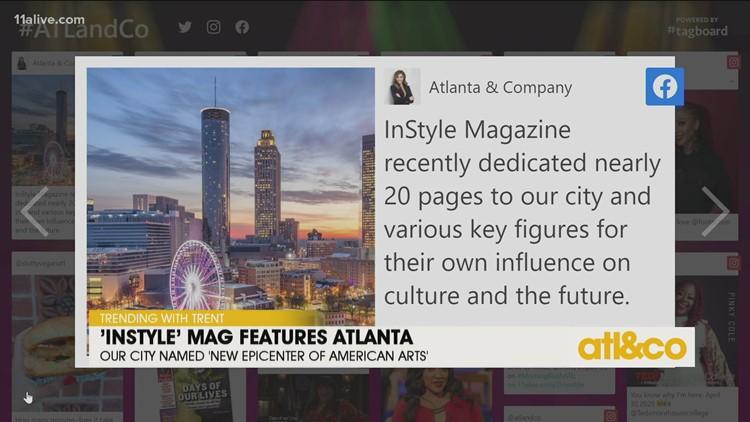 InStyle Magazine Features Atlanta's Arts Scene
