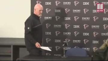 Atlanta Falcons head coach Dan Quinn, GM Thomas Dimitroff discuss future of team