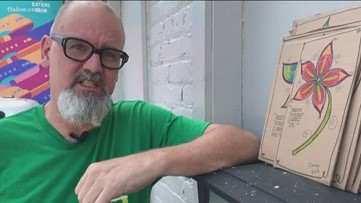 Hapeville artist uses work to connect to community