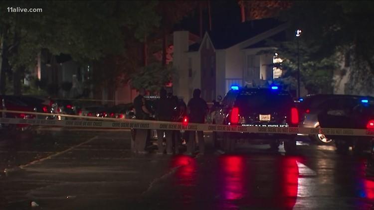 Woman shot outside condos in Stone Mountain