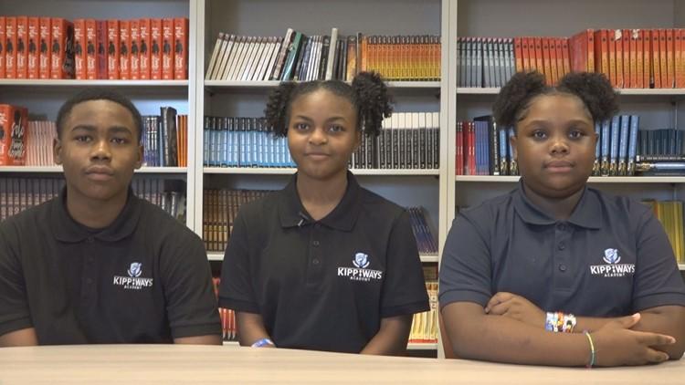 KIPP students