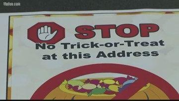 Butts County sex offenders file suit over sheriff's 'No trick-or-treat' signs