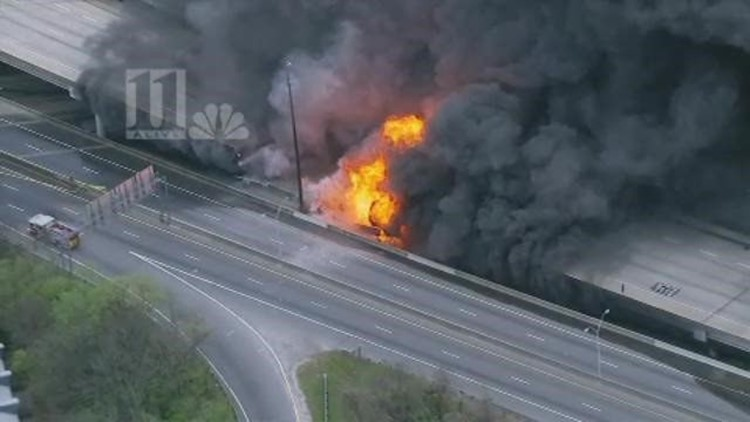 NTSB: GDOT partly at fault for I-85 Collapse
