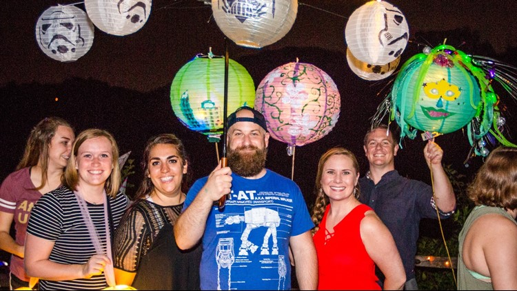 Sandy Springs will light up the night and the water during the 3rd Annual Lantern Parade on Saturday, April 21. Visitors and residents are invited to participate in the illumination of Morgan Falls and the Chattahoochee River with whimsical and beautifully-lit lanterns.