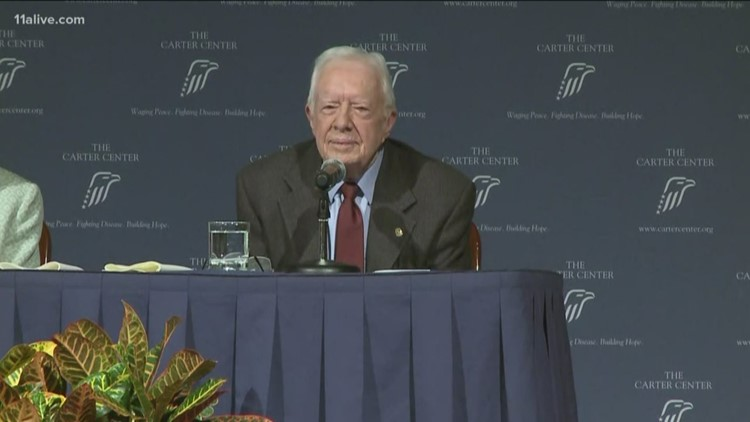 Jimmy Carter to appear at next 'Conversations with the Carters' event on Feb. 27