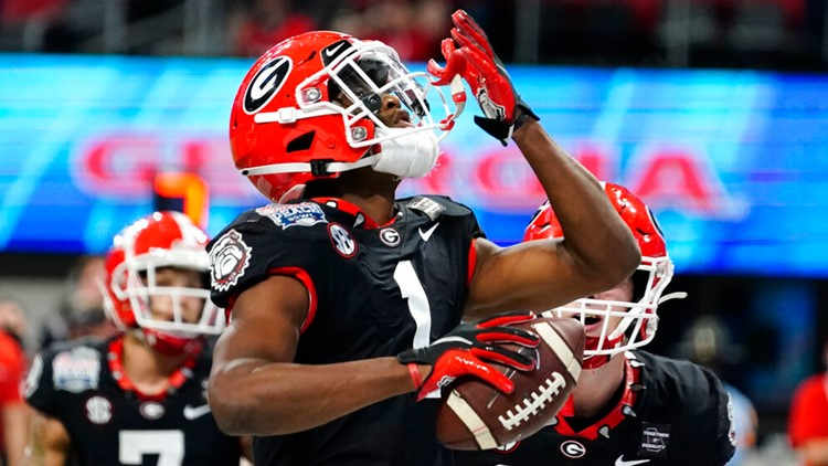UGA wide receiver injures ACL, set to have surgery