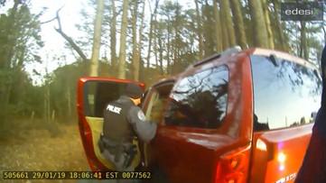 RAW POLICE VIDEO: Man arrested in Super Bowl counterfeit ticket scheme in Duluth