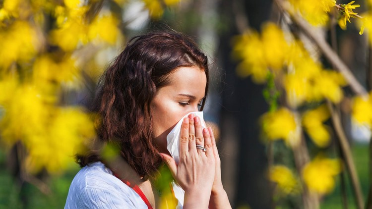 Highest pollen count day of the year so far in Atlanta