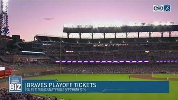 Atlanta Braves Playoff Tickets on Sale Friday