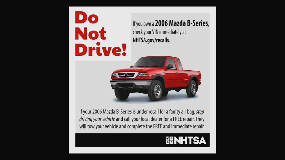 PHOTOS | Recent NHTSA recall orders | 11alive com