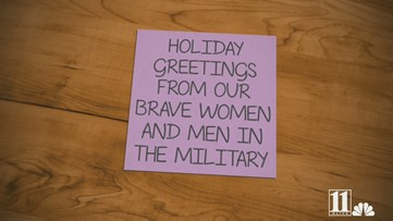 Military members share holiday greetings from overseas