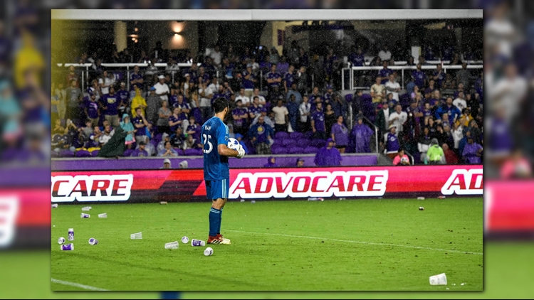 Orlando City and its fans may be subject to sanctions.