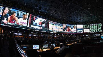 Sports gambling: This is where you can legally place a bet on sports