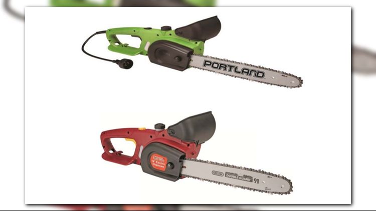 Harbor Freight Tools recalling more than 1 million chainsaws
