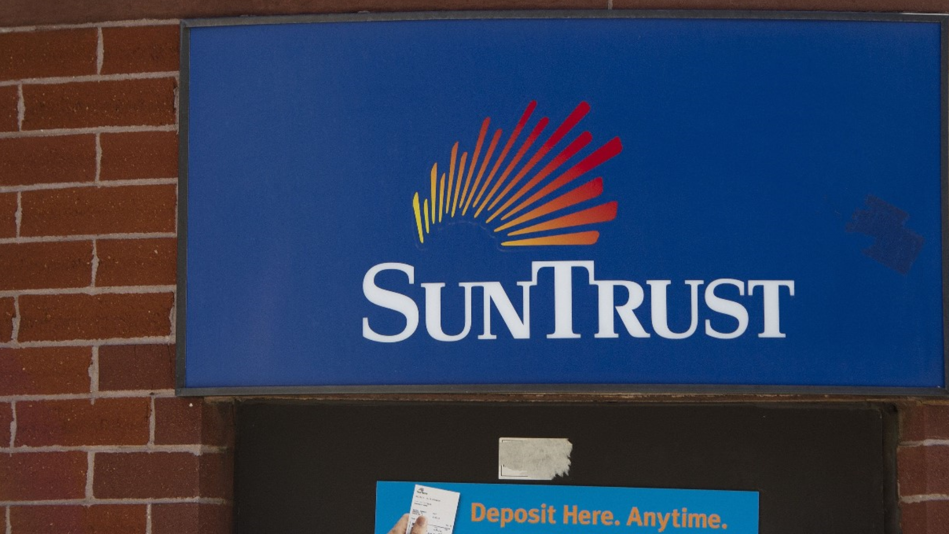 did suntrust merge with another bank