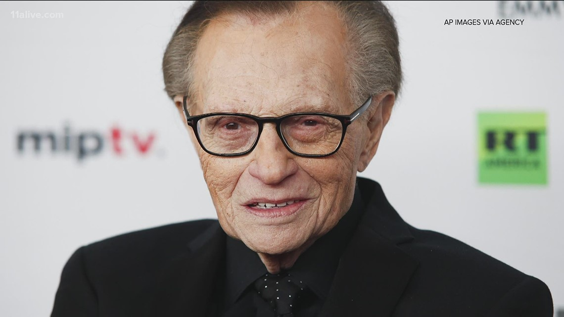 Television, radio host Larry King dies