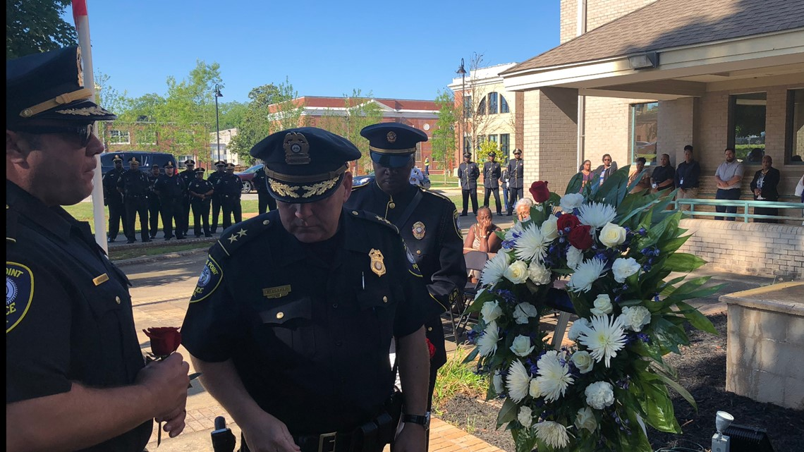 East Point Police Department honors fallen officers