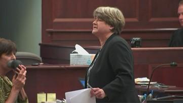 Rosenbaum Murder Trial - Attorney Corinne Mull presents the defense's closing statement