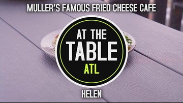 Cheese lovers: Indulge in fried favorites at this Helen, GA café