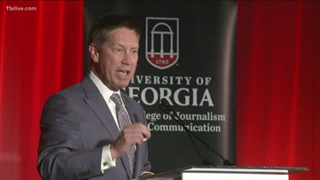 11Alive's Chris Holcomb honored with lifetime achievement award from UGA