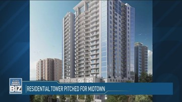 Residential Tower Pitched for Midtown