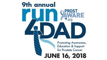 Run4DAD and have a special Father's Day weekend while bringing awareness to prostate cancer.